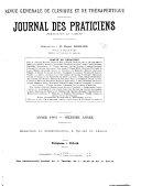 Revue générale de clinique et de thérapeutique