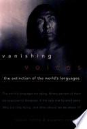 Vanishing Voices Book PDF