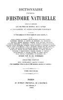 Dictionnaire universel d'histoire naturelle - tome 6 (G-HYS)