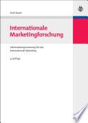 Internationale Marketingforschung