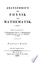 Zeitschrift für Physik und Mathematik