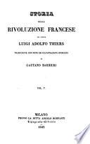 Storia della rivoluzione Francese  traduzione con note ed illustrazioni storiche di Gaetano Barbieri