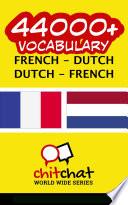 44000+ French - Dutch Dutch - French Vocabulary