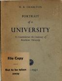 Portrait of a University, 1851-1951