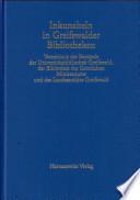 Inkunabeln in Greifswalder Bibliotheken