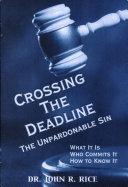 Book Crossing the Deadline