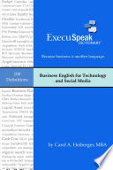 Business English for Technology   Social Media