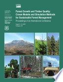 Forest Growth And Timber Quality
