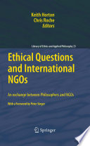 Ethical Questions and International NGOs