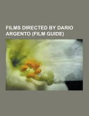 Films Directed by Dario Argento