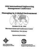 Managing In A Global Environment book