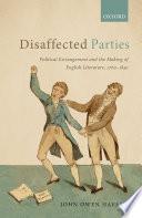Disaffected Parties Book PDF