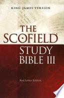 The ScofieldRG Study Bible III  KJV