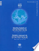 Monthly Bulletin of Statistics  June 2010