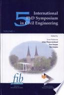 5th International Phd Symposium in Civil Engineering