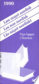 Læs noget nordisk 1990