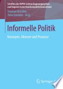 Informelle Politik
