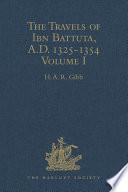 The Travels of Ibn Battuta  A D  1325 1354