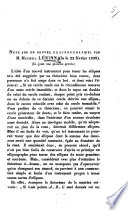 Note sur un nouvel ellipsographe, etc. (Titré du Bulletin scientifique publié par l'Acad. Imp. des Sciences de St. Pétersbourg.).