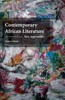 Contemporary African Literature