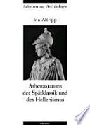 Athenastatuen der Spätklassik und des Hellenismus