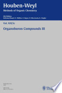 Houben-Weyl Methods of Organic Chemistry Vol. XIII/3c, 4th Edition