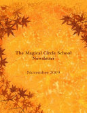 Book The magical circle School Newsletter: November 2009