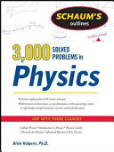 Schaum s 3 000 Solved Problems in Physics
