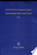 Armenien einst und jetzt