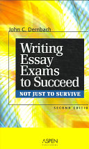 Writing Essay Exams to Succeed  not Just to Survive