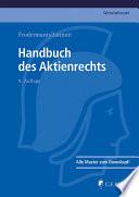 Handbuch des Aktienrechts