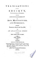 Transactions of the Society of Arts Book PDF