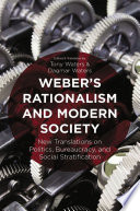 Weber s Rationalism and Modern Society