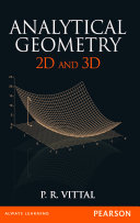 Analytical Geometry 2d And 3d