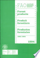 Yearbook of Forest Products  1983 1994