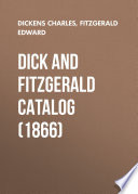 Dick and Fitzgerald Catalog  1866