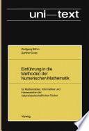 Einführung in die Methoden der Numerischen Mathematik