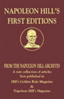 Napoleon Hill s First Editions
