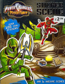 Power Rangers Mystic Force  Sticker Scene