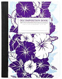 download ebook purple hibiscus large 2 color decomposition ruled book pdf epub