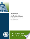 Affordability of College Textbooks: Textbook Prices Have Risen Significantly in the Last Four Years, but Some Strategies May Help to Control These Costs for Students