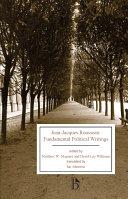 Jean Jacques Rousseau Fundamental Political Writings