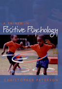 download ebook a primer in positive psychology pdf epub