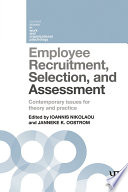 Employee Recruitment  Selection  and Assessment