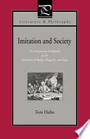Imitation And Society book