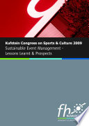Kufstein Congress on Sports and Culture 2009