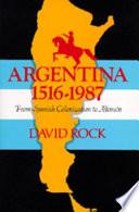 Argentina 1516 1987