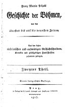 Geschichte der Bohmen
