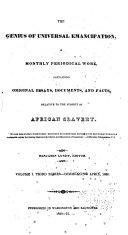 Genius of Universal Emancipation
