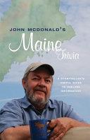 John Mcdonald S Maine Trivia